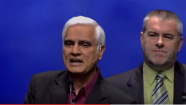 Ravi Zacharias - Who is responsible for evil?